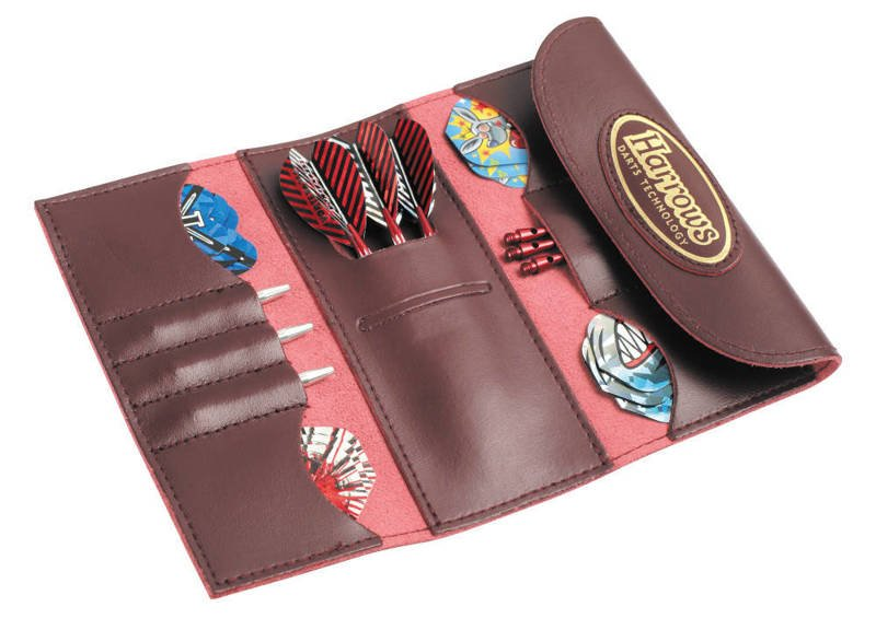 Pokrowiec Harrows 4 Fold Leather Wallet