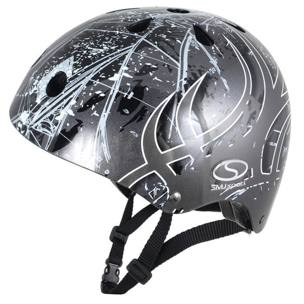 Kask SK-501 Anarchy Metalic Silver